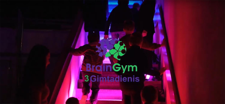 Pirmas BrainGym gimtadienis